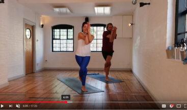 Creative Yoga Flow Sequence 25/8/18