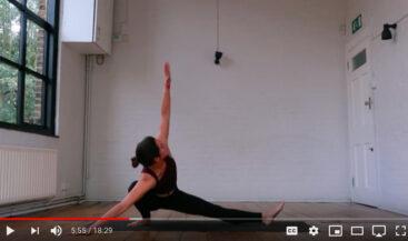 Creative Yoga Sequence