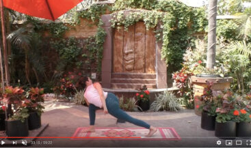 Live Stream Yoga Class for Fierce Calm Teacher's Relief Fund