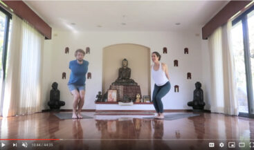 45 Minute Creative Yoga Flow Sequence