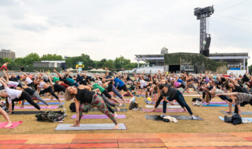 British Summer Time: Yoga in Hyde Park!