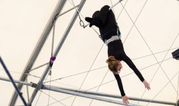 The Flying Trapeze by Danaan Parry
